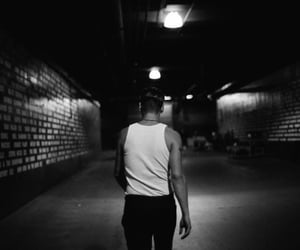 alone, foster the people, and black & white image