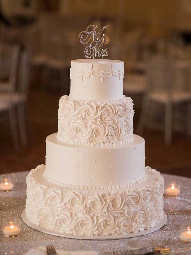 cake, beautiful, and wedding image