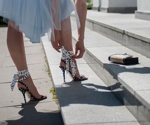 heels and purse image