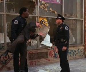 80's, police academy, and comedy image