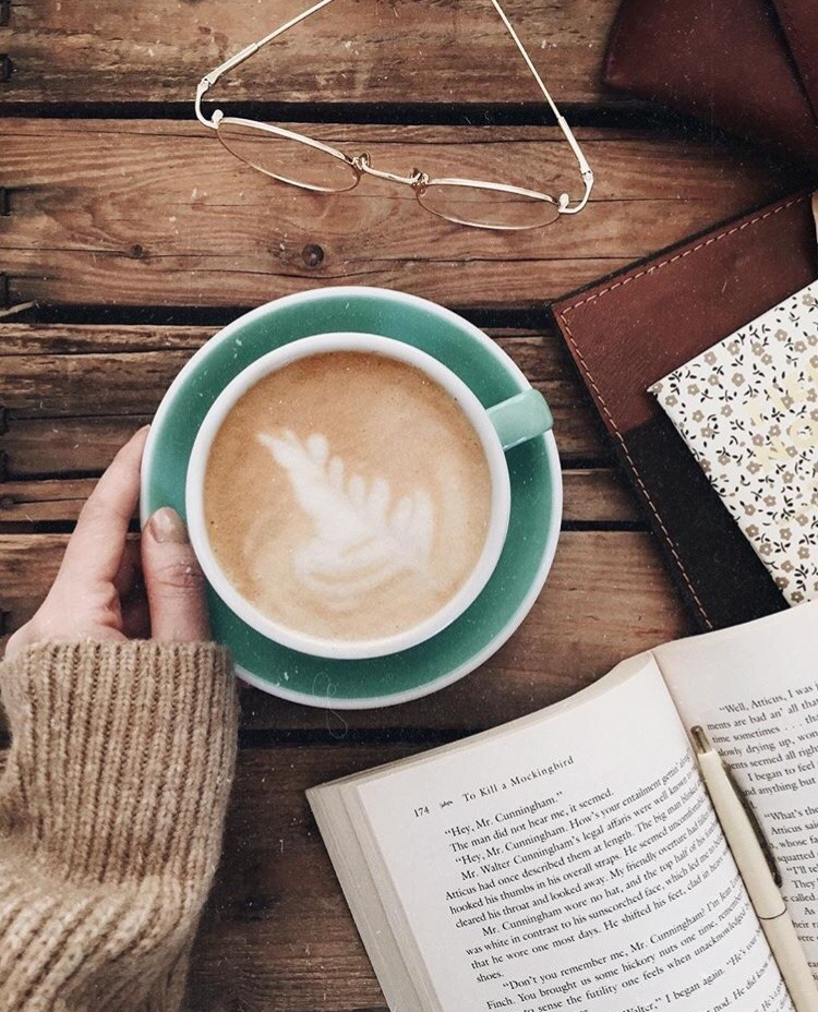 article, book club, and cooffee image