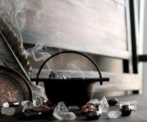 magic, witch, and cauldron image