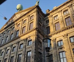 amsterdam, architecture, and dam image
