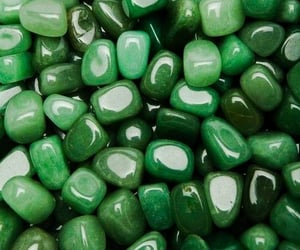 green, stone, and aesthetic image
