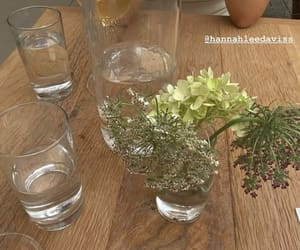 decor, flowers, and dinning image