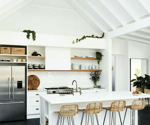 house, kitchen, white and villa - image #7696947 on Favim.com