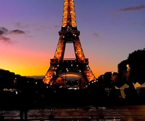 francia, lights, and torre eiffel image