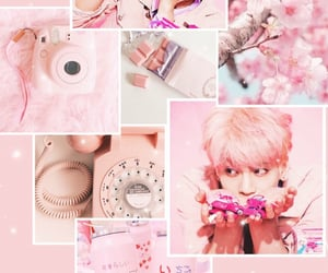 aesthetic, pink, and SHINee image