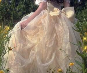 dress, princess, and aesthetic image