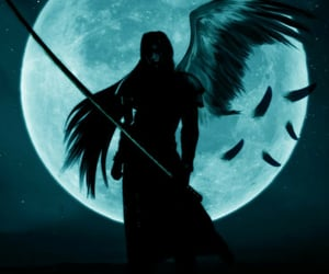 final fantasy, final fantasy VII, and Sephiroth image