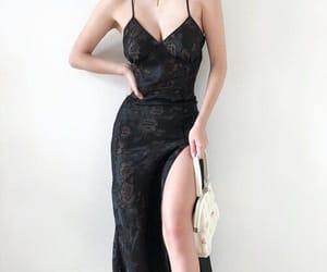 accessories, black, and dress image