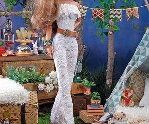 barbie, coachella, and hippie chic image