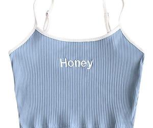 honey, baby blue, and fashion image
