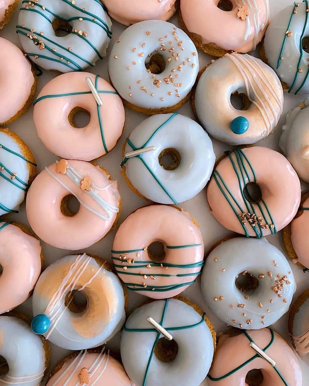 donuts, food, and foodporn image