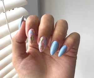 blue, fashion, and inspiration image