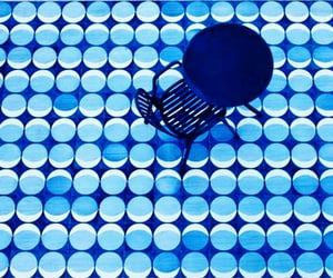 blue, circles, and tiles image