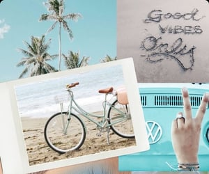 background, beach, and peace image