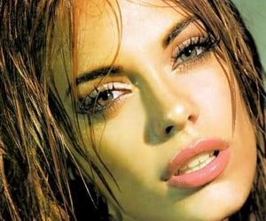 brunette, delicate, and elegance image