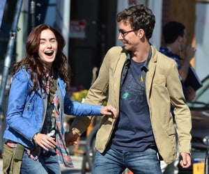 lily collins and robert sheehan image
