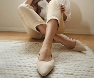 ballet flats, vivaia, and shoes image