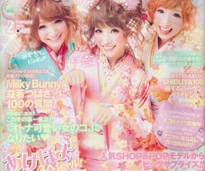 girls, japanese, and popteen image