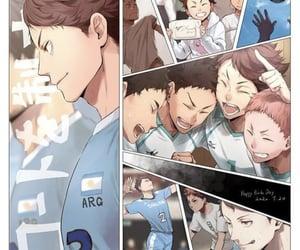 anime, haikyu, and anime boys image