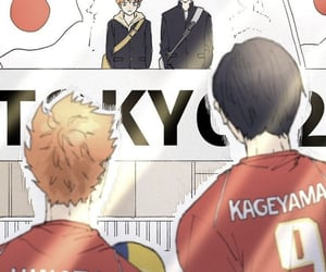 anime, haikyu, and kageyama image