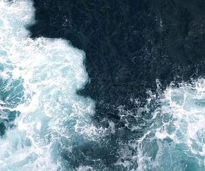 wallpaper, blue, and ocean image
