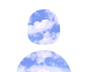 icon, clouds, and twitter image