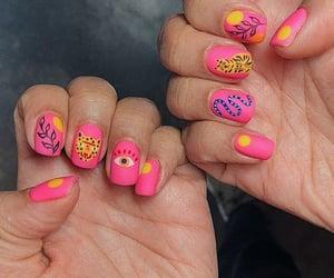 nail art, ring sets, and nail polish image