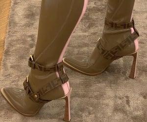 boots, fashion, and fendi image