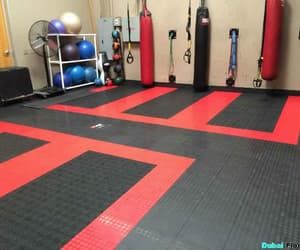 gym flooring in abu dhabi image