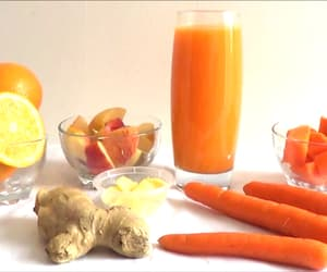 article and carrot juice recipe image