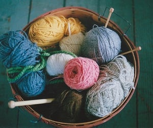 vintage, photography, and knitting image