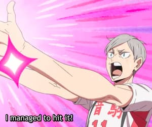 anime, lev, and nekoma image