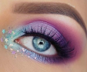 beautiful eyes, eye makeup, and beautiful eye makeup image