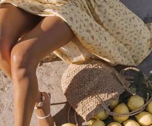 summer, lemon, and shoes image