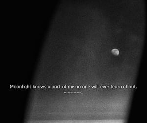 moon, poem, and moonlight image