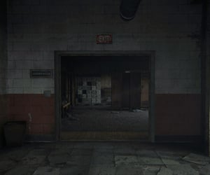 abandoned, dark, and deserted image