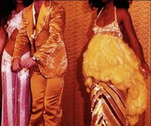 orange, yellow, and people image