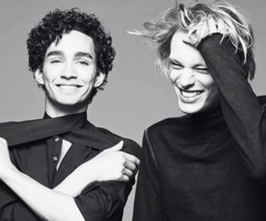 the umbrella academy, Jamie Campbell Bower, and robert sheehan image