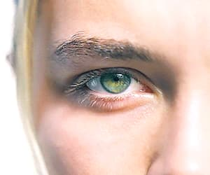 beauty, green eyes, and pretty image