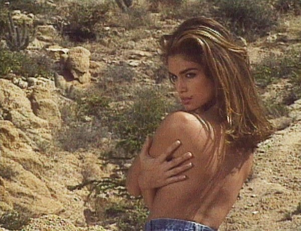 cindy crawford and model image