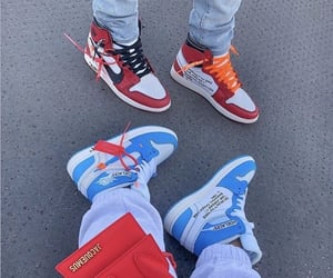 nike, shoes, and off white image