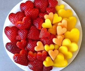summer, heart, FRUiTS and aesthetic