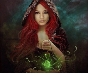 magic, fantasy, and witch image
