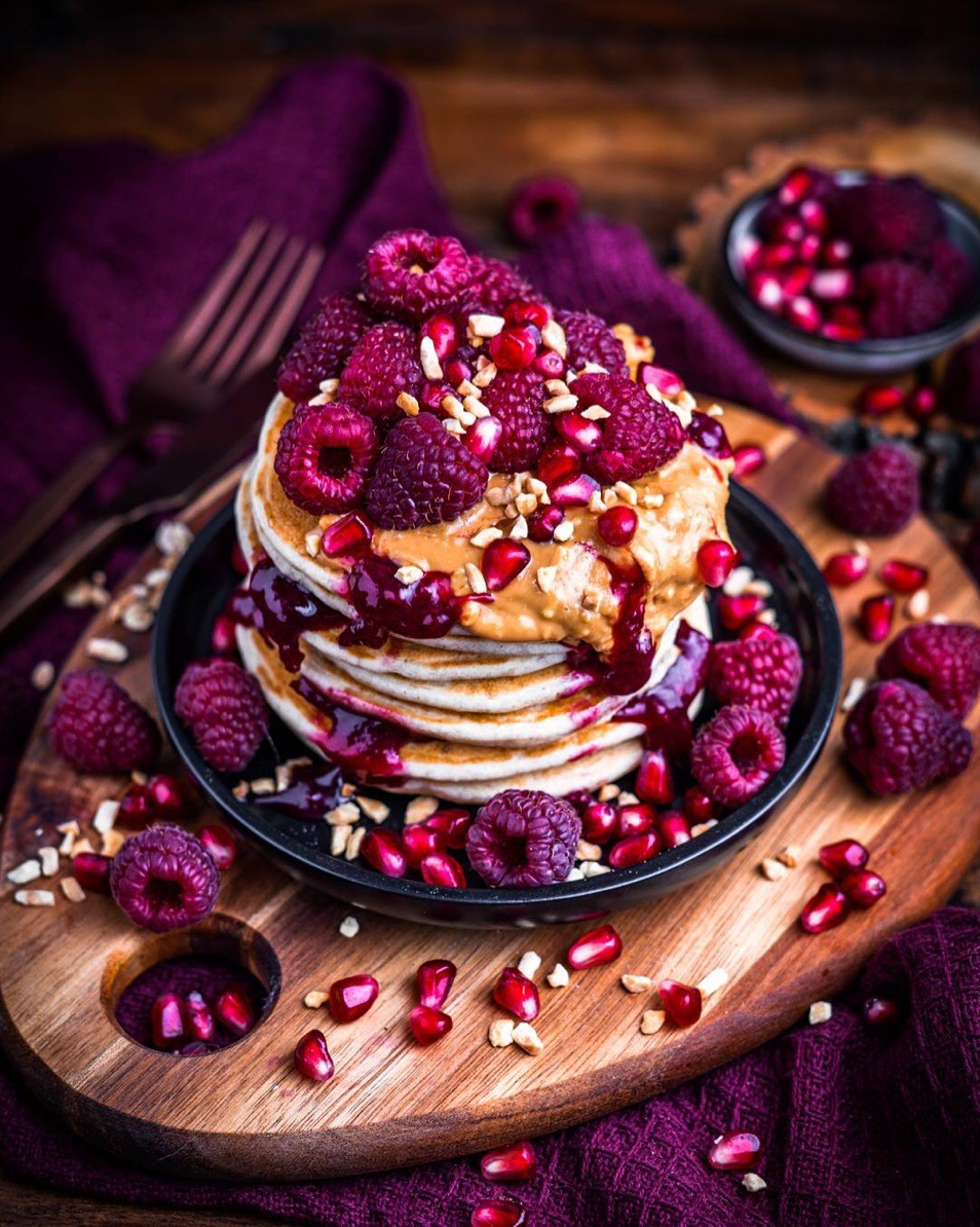 Image de food, pancakes, and delicious