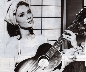 audrey hepburn and moon river image