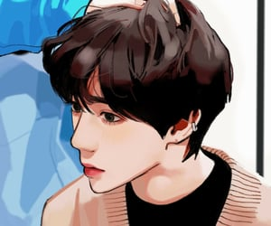 fanart, soobin, and kpop fan art image