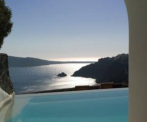 Greece, santorini, and sky image